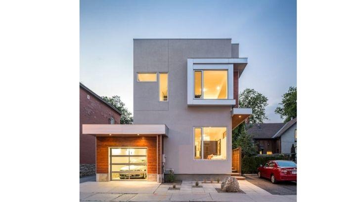 Bangunan desain rumah masih didominasi penggunaan atap pelana (Foto: Hotel Srem)