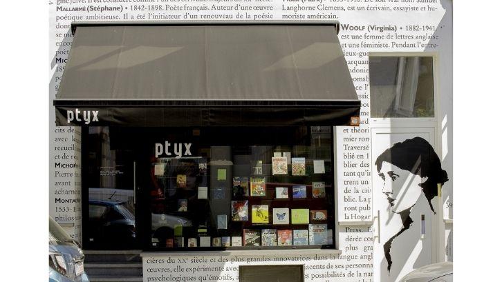 Menghilangkan kesan kutu buku, desain toko buku dibuat lebih modern (foto: Life Hack)