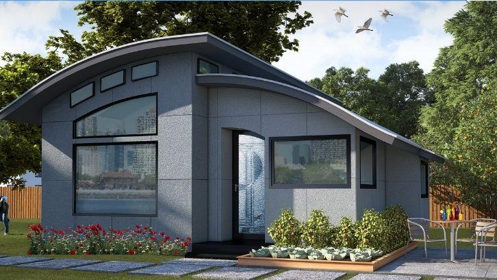 Desain rumah tanpa sekat bisa menciptakan rumah menjadi lebih luas dengan gerak ruang lebih bebas (foto: Onekind Design)
