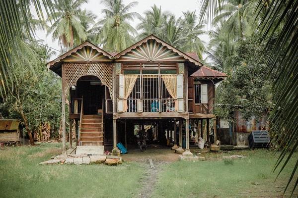 rumah kampung, village, rumah pusaka