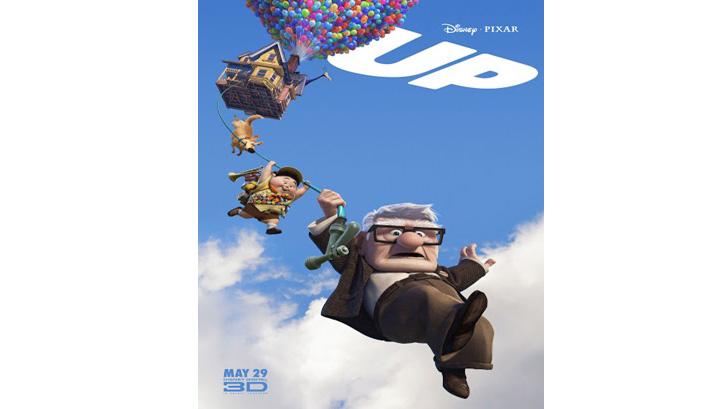 Film Up sukses meraih pendapatan lebih dari $735 juta. Sumber: Pinterest