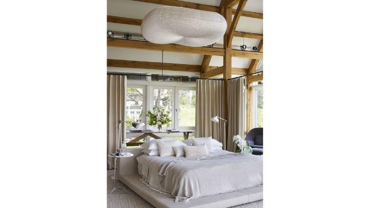Gaya tradisional membuat kamar tampak berseni Foto: (Elle Décor)