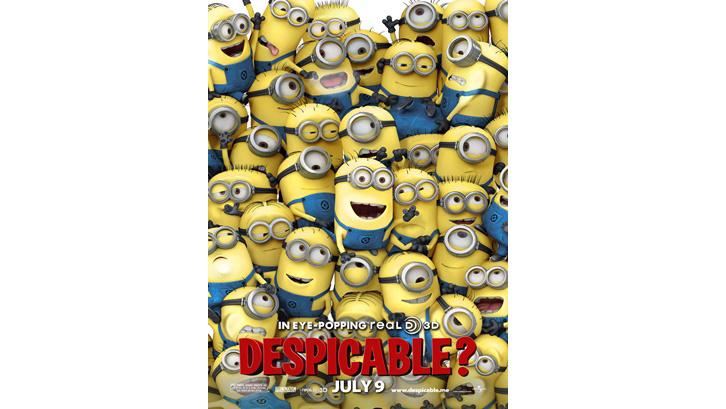 Dirilis secara teatrikal pada 9 Juli 2010 di Amerika Serikat, Despicable Me mendapat keuntungan lebih dari USD546 juta. Sumber: Joblo
