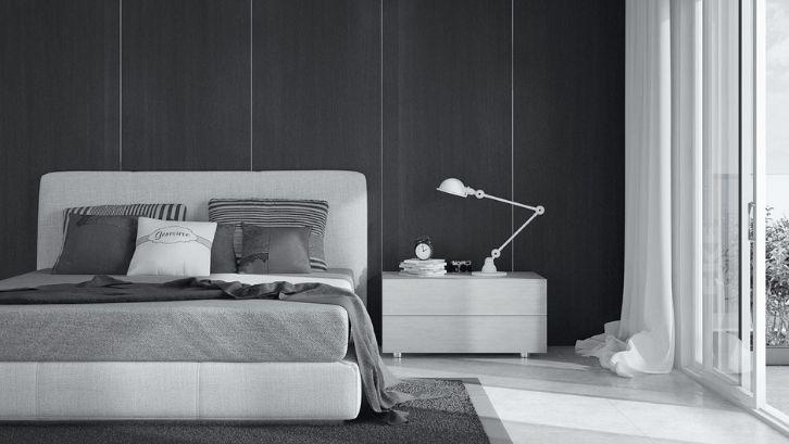 Monokromatik adalah perpaduan dua warna hitam dan putih. Foto: (Elle Décor)