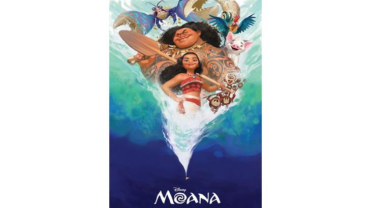 Moana memiliki misi untuk menyatukan kembali peninggalan mistis dewi Te Fiti. Sumber: Pinterest