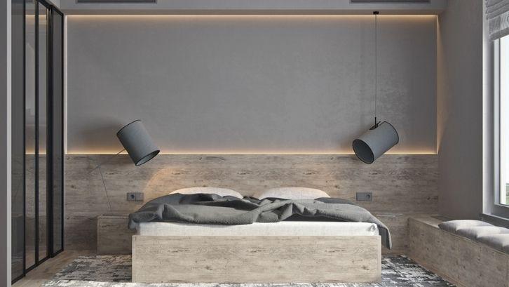 Material-material ekspos adalah inti dari desain industrial. Foto: (Home Designing)