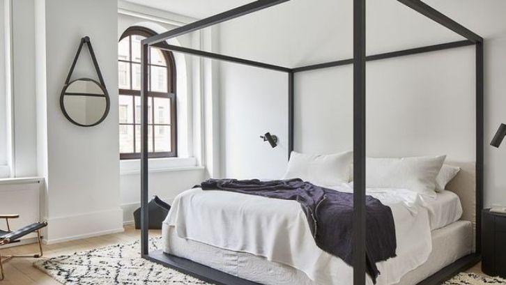 Desain yang dibuat untuk menciptakan ketenangan saat berada di kamar. Foto: (Elle Décor)