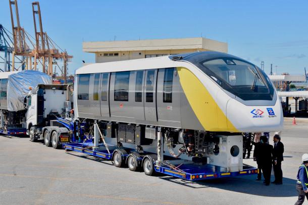 เผยโฉมรถไฟฟ้าสายสีเหลือง ลาดพร้าว-สำโรง
