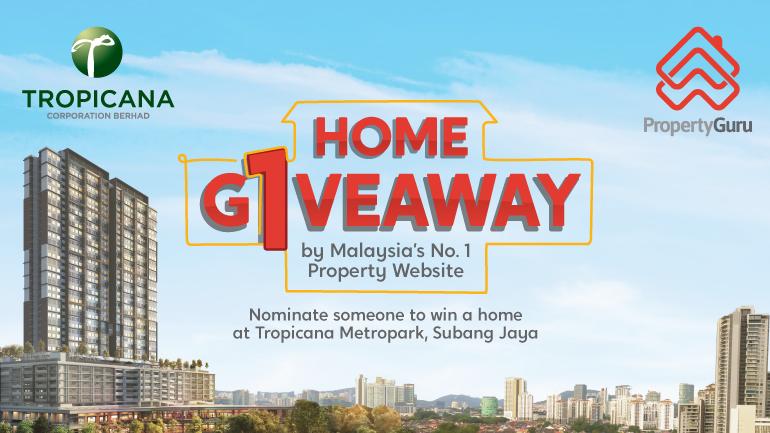PropertyGuru Home Giveaway - Tropicana Metropark