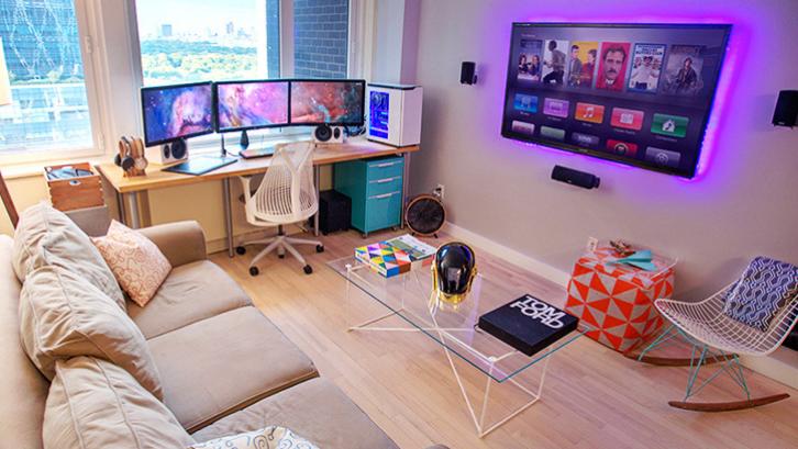 Tidak semua orang membutuhkan kamar khusus untuk bermain game. (Foto: Homebnc)