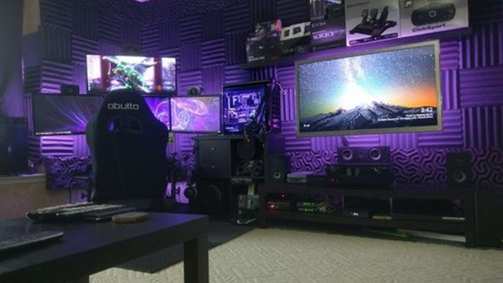 9 Inspirasi Desain Kamar Gaming Keren | Rumah.com