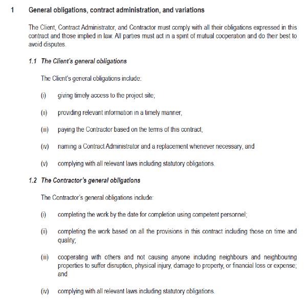 Renovation contract 3