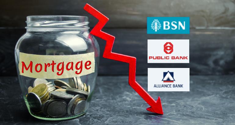 马来西亚5家贷款利息最低的银行, 国家储蓄银行 Bank Simpanan Nasional BSN, 大众银行 Public Bank, 大众回教银行 Public Islamic Bank, 安联银行 Alliance Bank, 安联回教银行 Alliance Islamic Bank