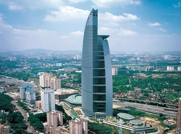 bangunan tertinggi malaysia, bangunan tertinggi, klcc, suria klcc, menara trx, komtar, PNB 118