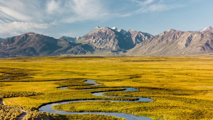 Tanah aluvial memiliki karakteristik yang berbeda dari tanah biasa. (Foto: Pexels - Jeremy Bishop)