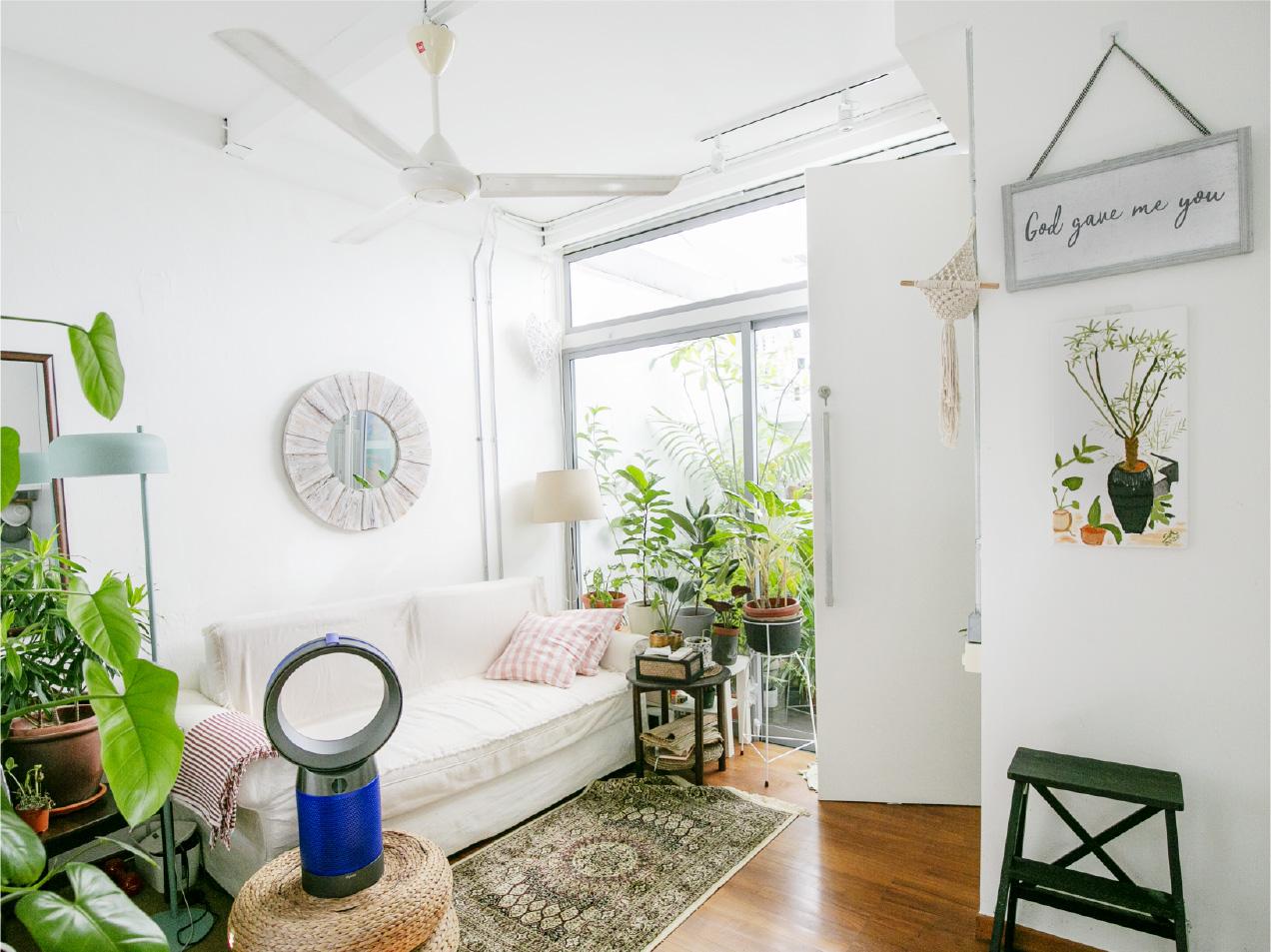 Inside Sherry Ann's home