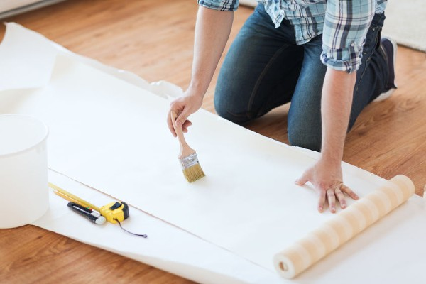 siling rumah, plaster siling, siling kapur ruang tamu, siling kapur, cermin dinding, corak dinding, dinding rumah, wallpaper rumah