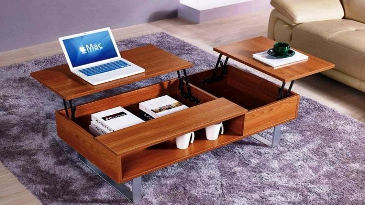 Meja ini juga bisa digunakan di satu sisi untuk meletakkan laptop. Sumber: The Architecture Designs