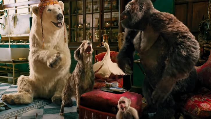 Film fantasi terbaik Dolittle bercerita mengenai dokter hewan yang bisa berbicara dengan binatang peliharaanya. Sumber: Pinterest
