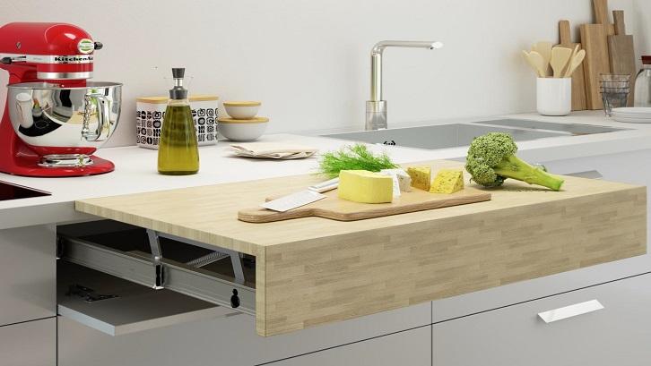 Saat ini sudah banyak dapur yang fungsional dan praktis kendati ruangan terbatas. Sumber: Arch Daily