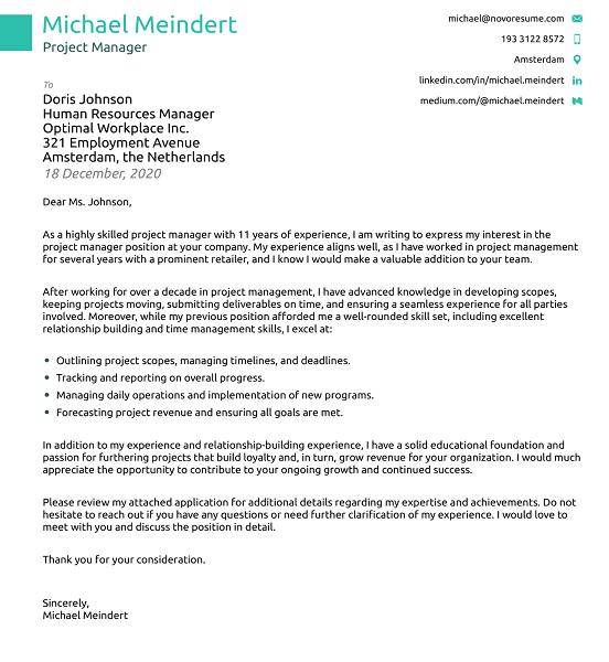 6 Contoh Cover Letter Profesional Untuk Lamar Kerja Rumah Com