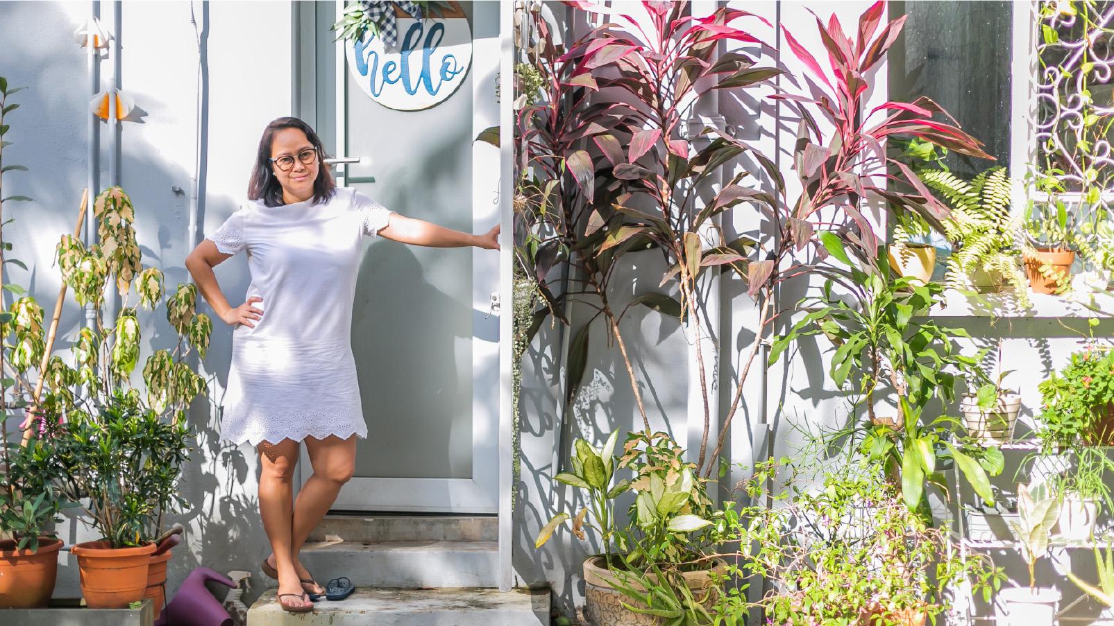 Turning A Plain Shophouse Yard Into An Instagram-Worthy 'Jungle'