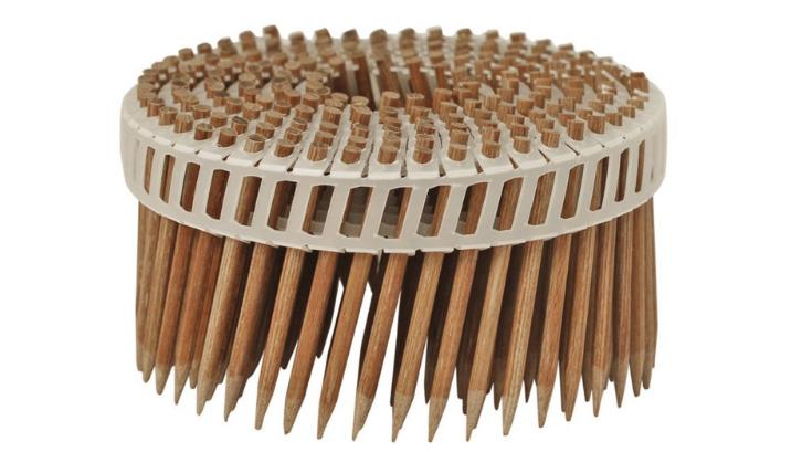 Paku kayu bisa menjadi penghubung yang kuat antara material kayu. (Foto: Treehugger)