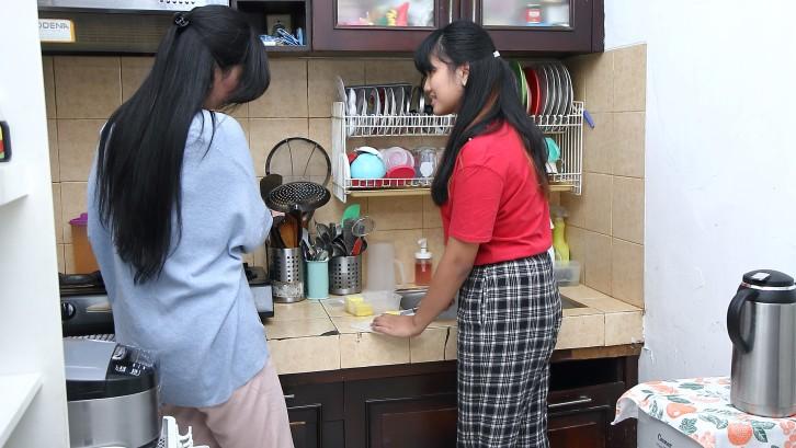 Cerita Rumah Lita dan Tanto: Kolaborasi Sisi Estetika dan Praktis yang Manis