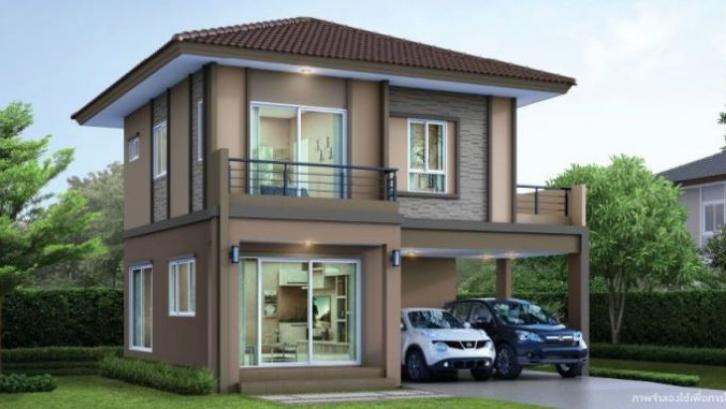 Desain Rumah 2 Lantai Sederhana Dan Biaya Bangun 2021 Rumah Com