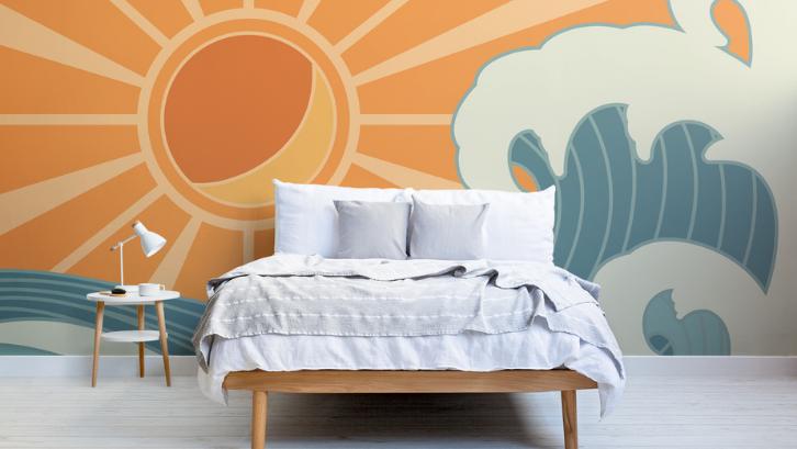 Kamar tidur merupakan tempat Anda bisa meluapkan kreativitas dan kepribadian secara bebas. (Foto: Hovia)