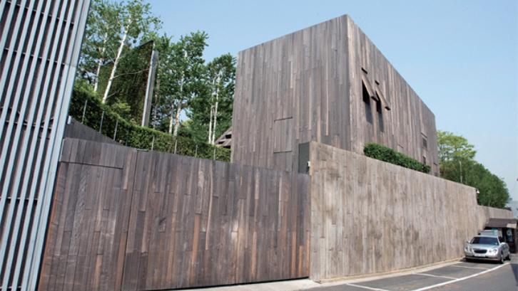 Hannam-dong Residence merupakan sebuah rumah mewah yang dimiliki oleh seorang pengusaha Korea. (Foto: THE INVESTOR)