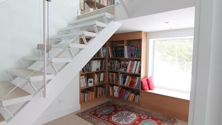 Buku membutuhkan penyimpanan yang banyak di rumah Anda. (Foto: Houzz)