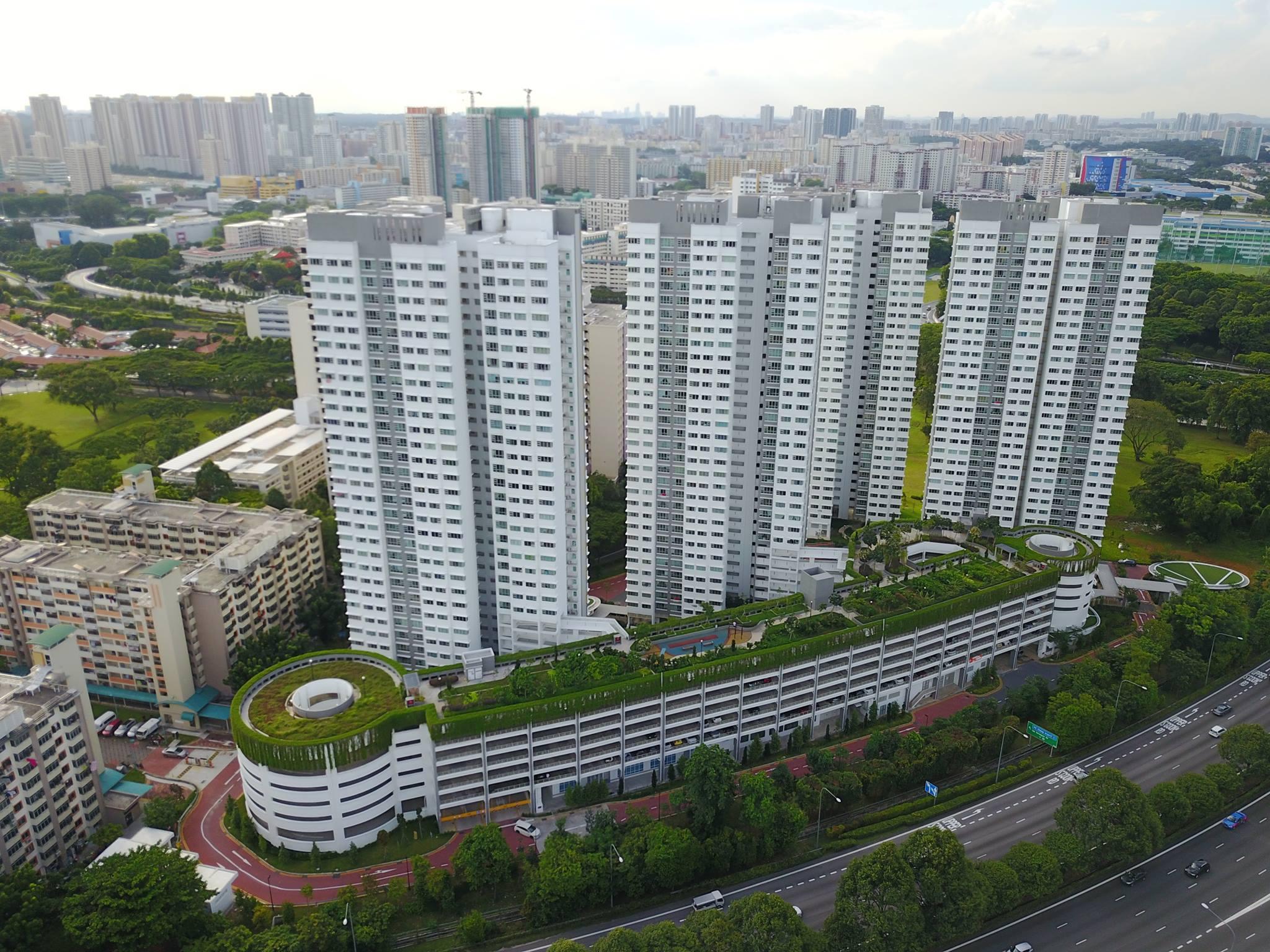 tallest-hdb-flats-singapore-Tenteram-Peak