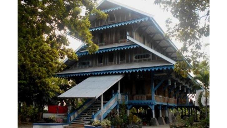 Rumah adat Ma'lihe atau Potiwaluya memiliki aturan khusus yang berlaku di dalamnya. (Foto: Kompas)