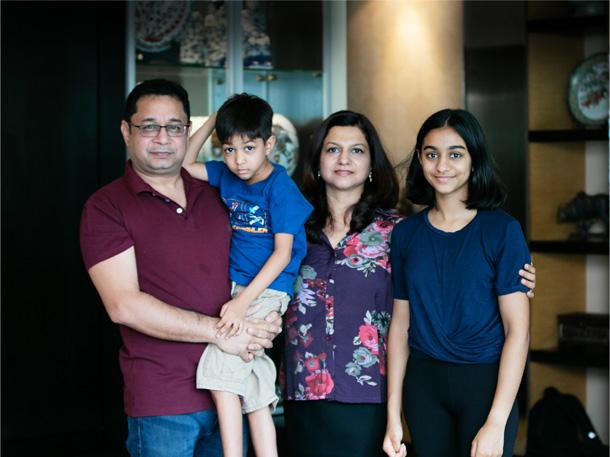 Meeshal's happy family