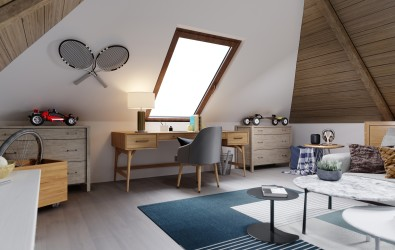 The,Design,Of,The,Children's,Room,For,The,Teenager,On