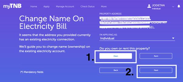 tnb, 比特币挖矿, 电表, 电费, tnb change of tenancy, how to check tnb bill online, 马来西亚房地产, 出租, 租房