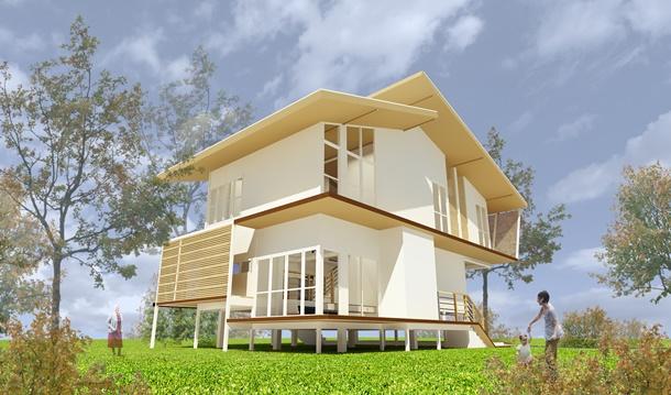 แบบบ้านฟรี ธอส. แบบบ้านราคาไม่เกิน 2,000,000 บาท
