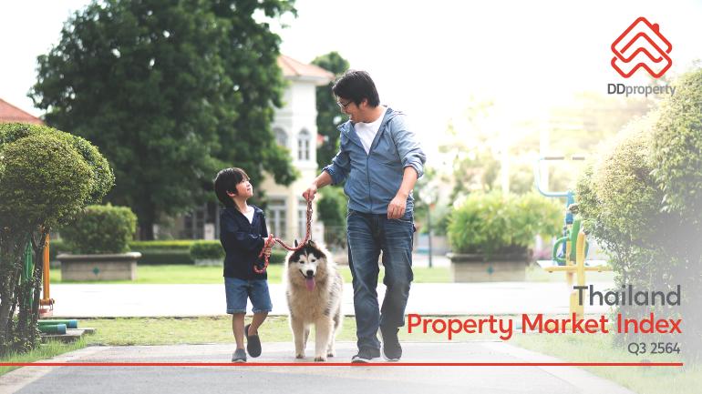 DDproperty Thailand Property Market Index Q3 2564