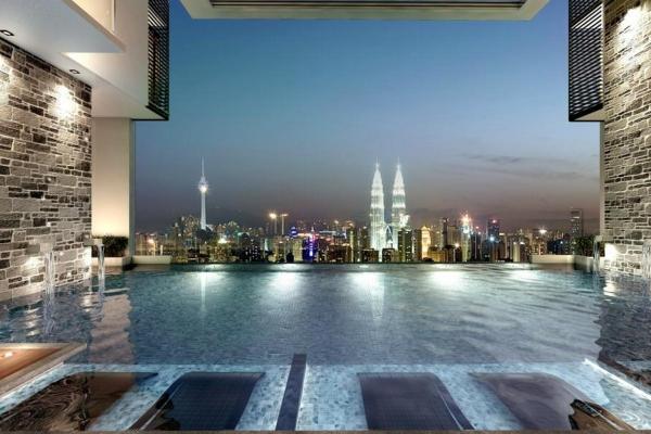 kl condo, kuala lumpur condo, infinity pool, sky pool, infinity swimming pool, infinity pool malaysia, what is infinity pool, infinity pool condo