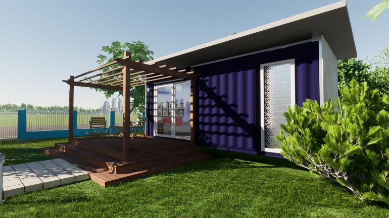 แบบบ้านชั้นเดียว งบ 1 แสน ไอเดียสร้างบ้านสวยราคาประหยัด
