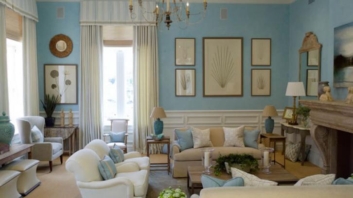 Warna beige yang mewah bisa memperkuat nuansa klasik pada interior rumah Anda. (Foto: Houzz)