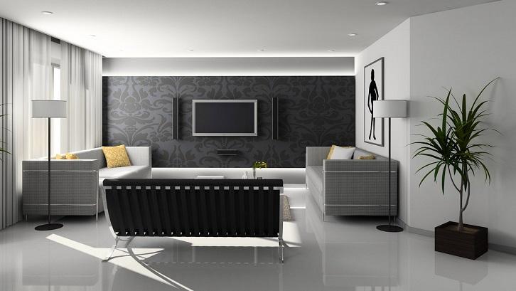 Warna violet dapat Anda gabungkan dengan perabotan berwarna abu-abu, perak, dan putih. Sumber: Pexels - Pixabay