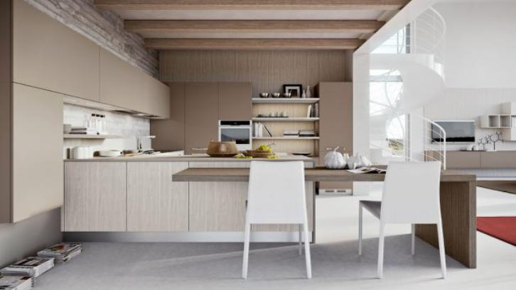 Island pada dapur memiliki banyak sekali fungsi berbeda. (Foto: Architecture Art Design)