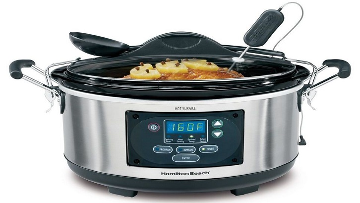 Waktu yang Anda gunakan dengan panci biasa Anda akan berkurang secara signifikan setelah Anda memiliki alat dapur modern ini. Sumber: The Spruce Eats